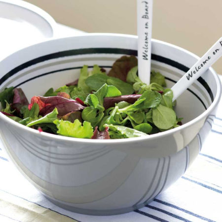 Salad and appetizer bowls