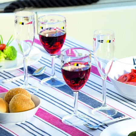Unbreakable wine glasses