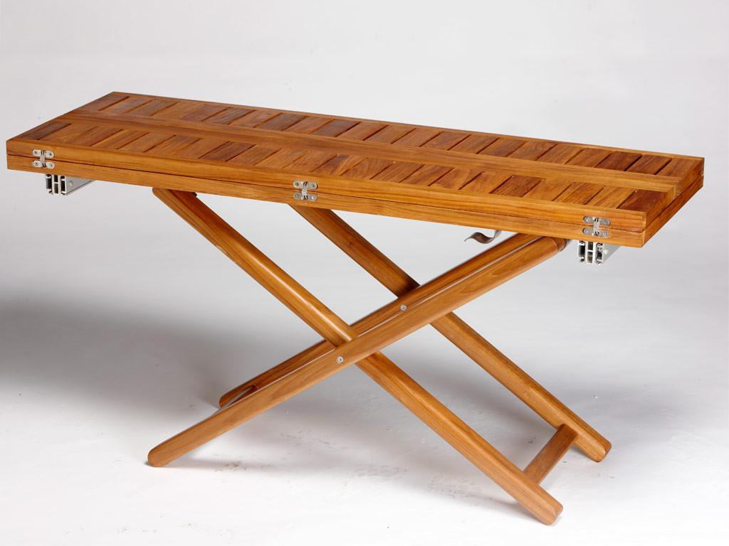 ARC Foldable Teak Table